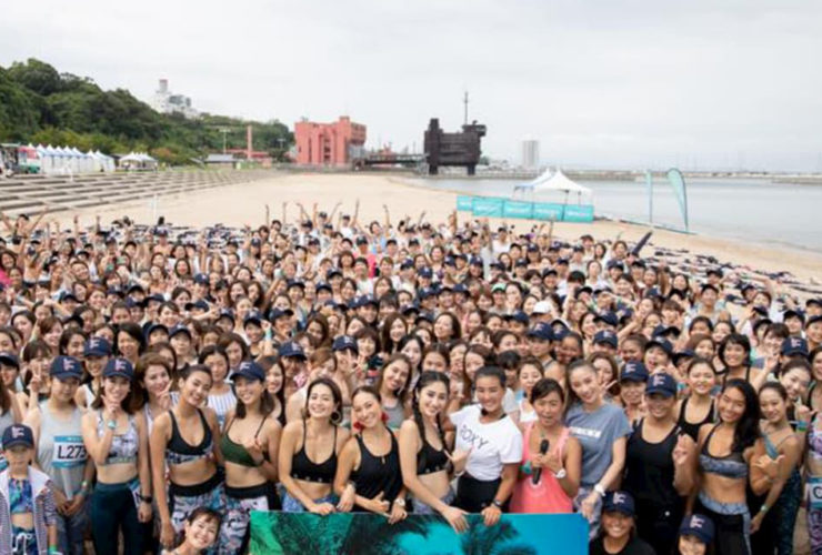ROXY FITNESS RUNSUPYOGA in 大阪