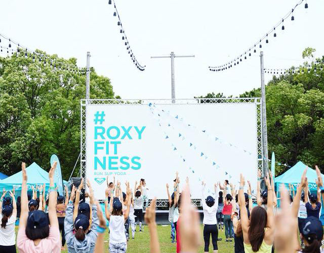 ROXY FITNESS RUNSUPYOGA in 福岡
