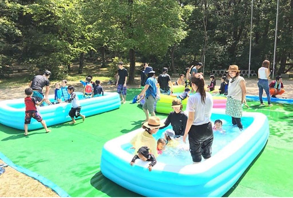 夏のちびっこアウトドア教室 三木ホースランドパーク