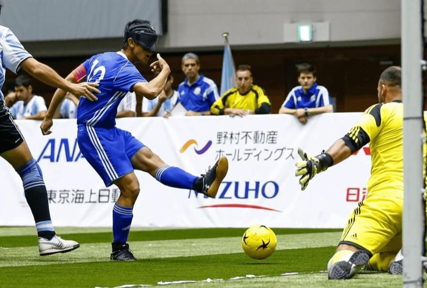 ブラインドサッカー チャレンジカップ | 東京都