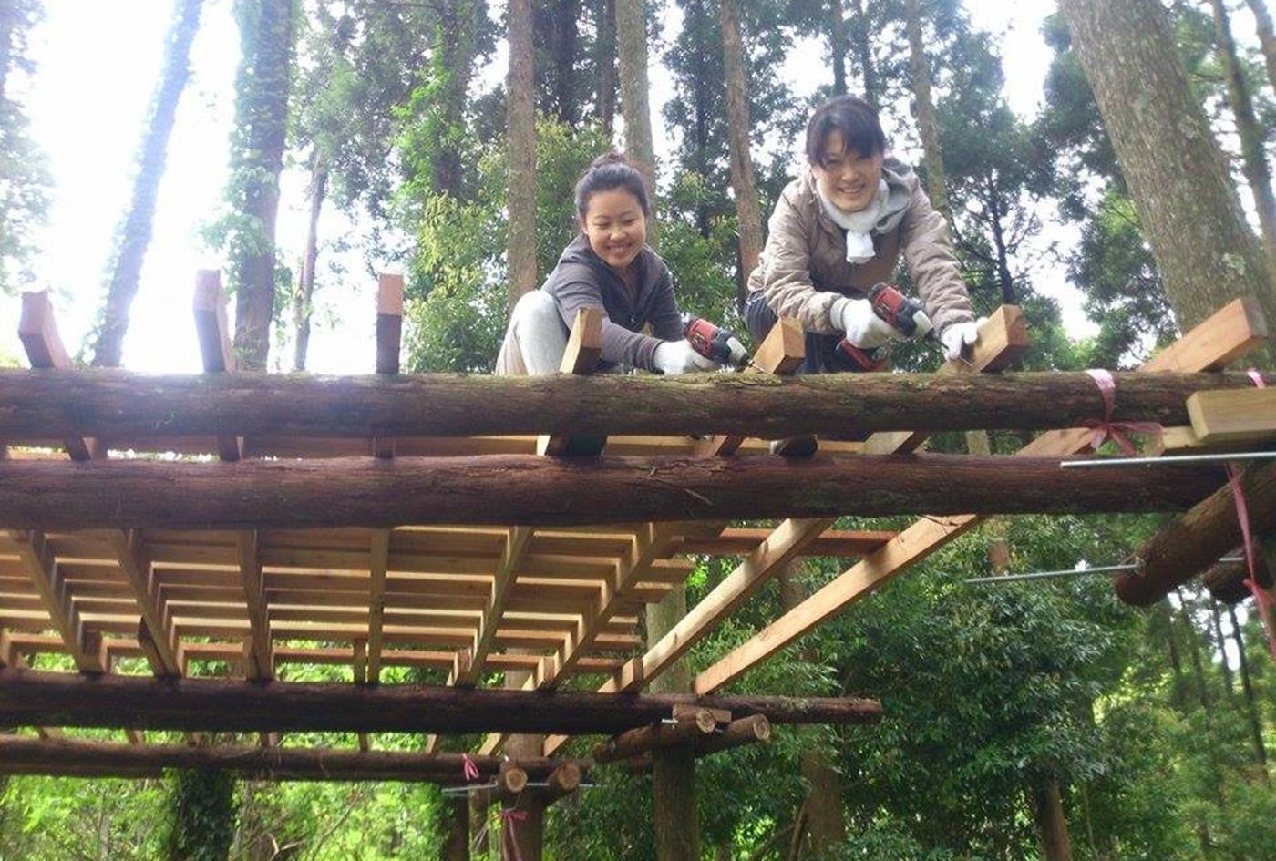 ツリーハウス製作の旅 | 千葉県