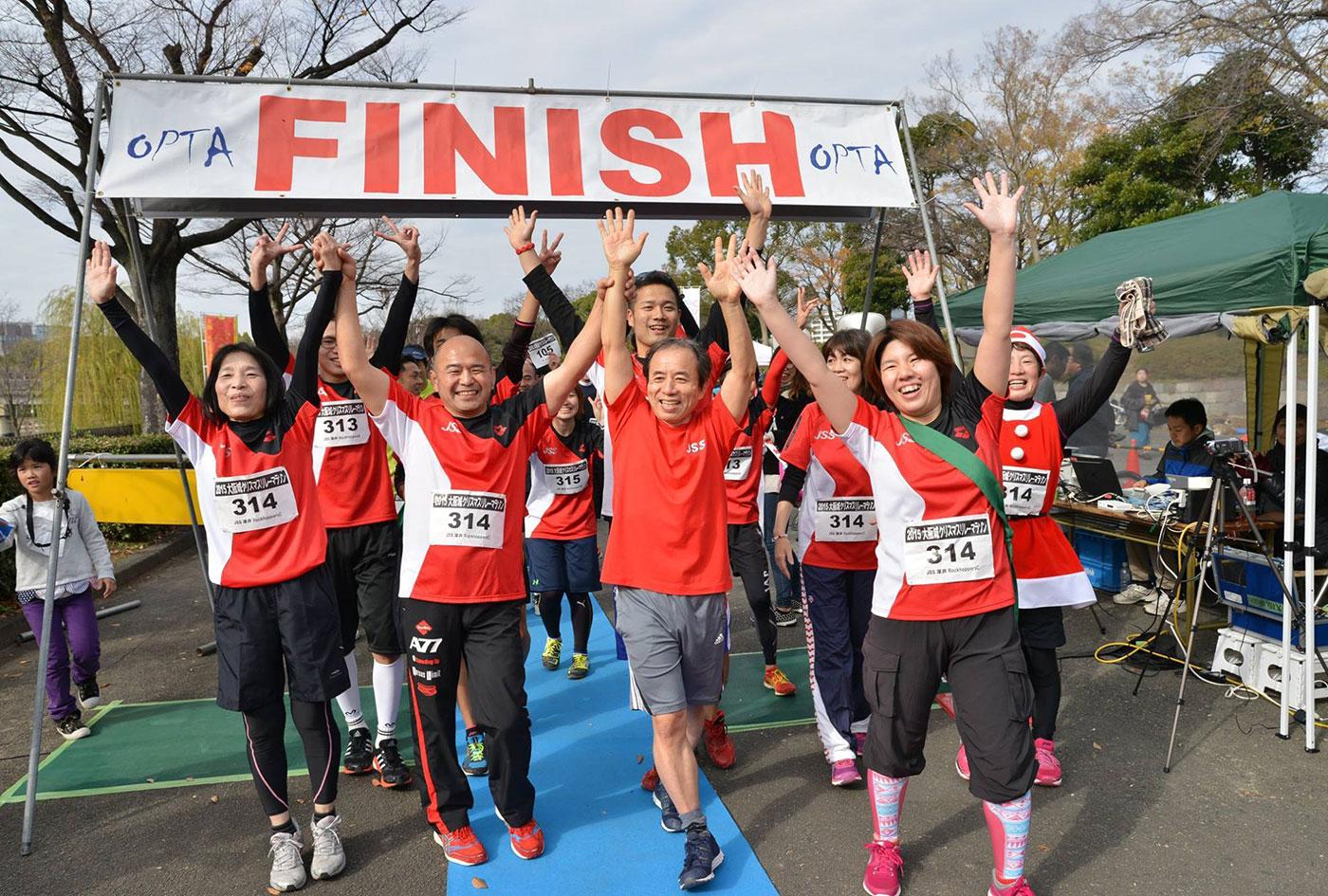 大阪城クリスマスリレーマラソン | 大阪府