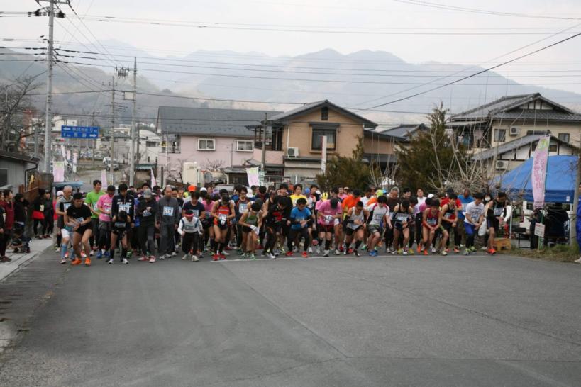 みなの美の山さくらマラソン | 埼玉県