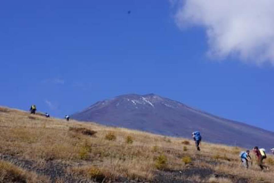 秋の双子山Trekking in Autumn2019   山梨県