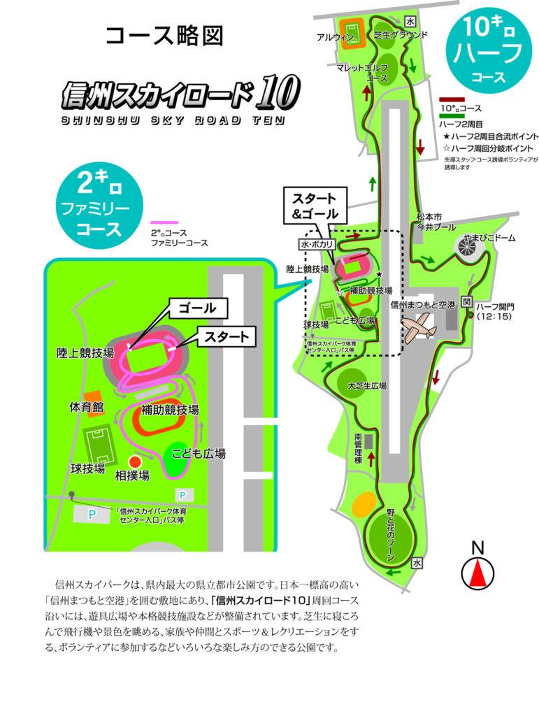 春の松本ランニングフェスティバル