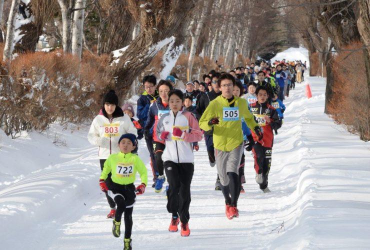 北海道スノーマラソン   北海道