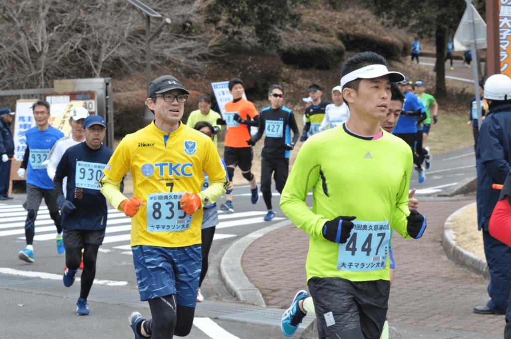 奥久慈湯の里大子マラソン大会   茨城県