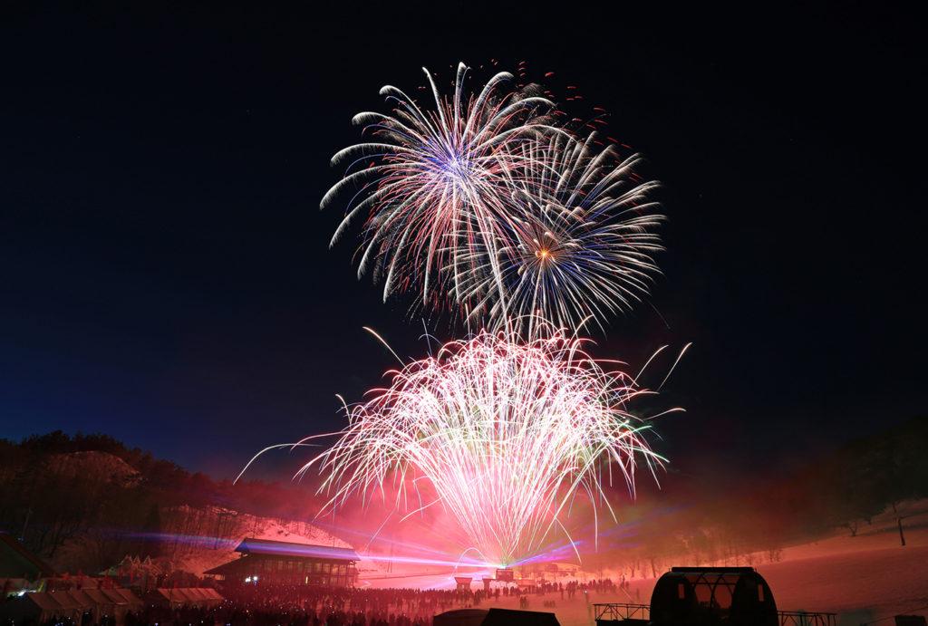 NASPAスキーガーデン カウントダウン&HANABIシンフォニー | 新潟県