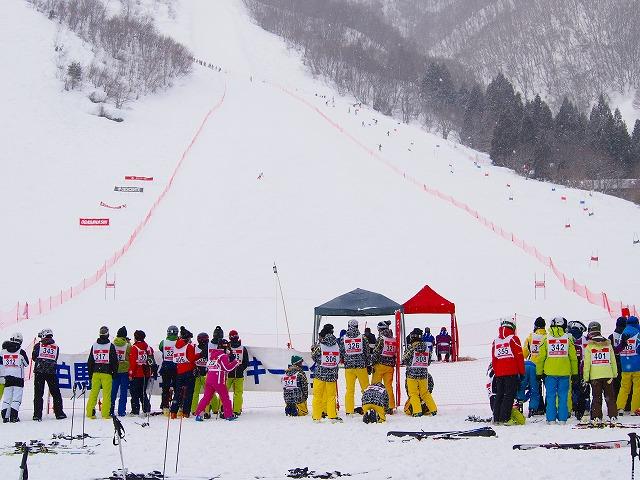 白馬五竜学生基礎スキー大会
