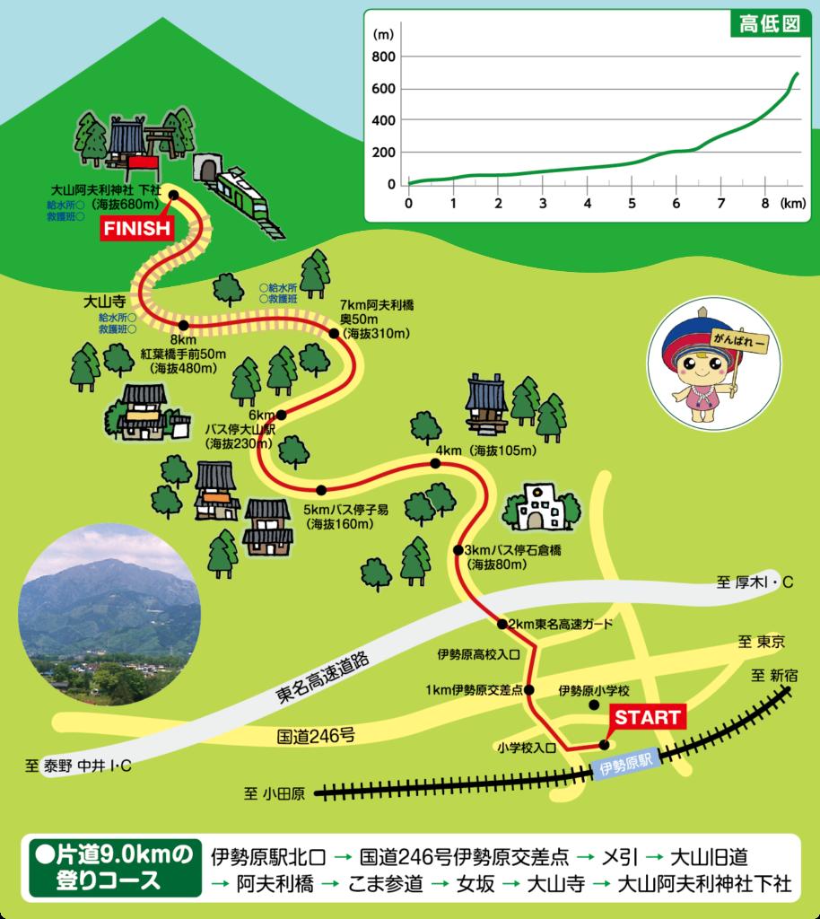 第35回記念大山登山マラソン大会 | 神奈川県