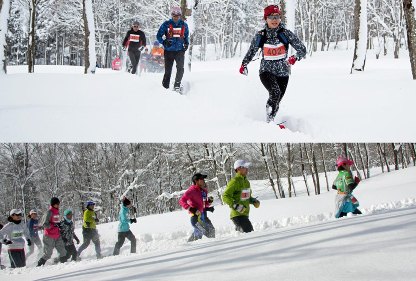 全日本スノーシューイング・グランプリシリーズ | 石川県