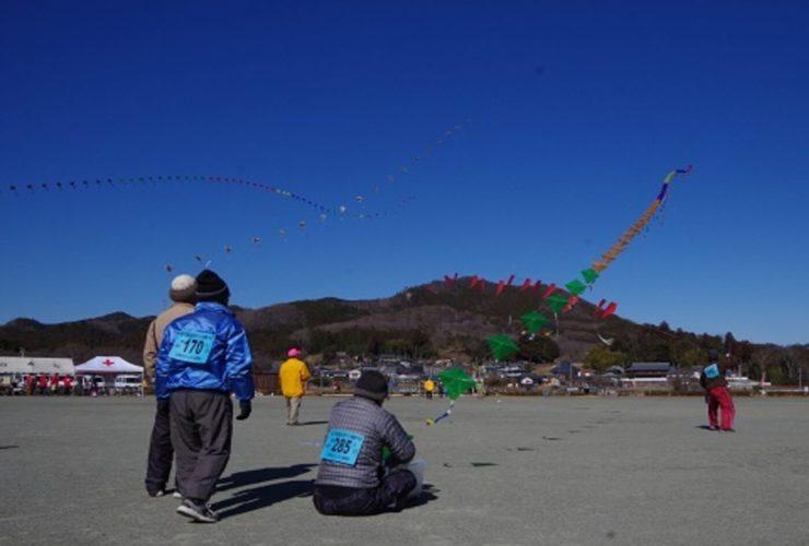 日高市手づくり凧揚げ大会 | 埼玉県(巾着田多目的広場)
