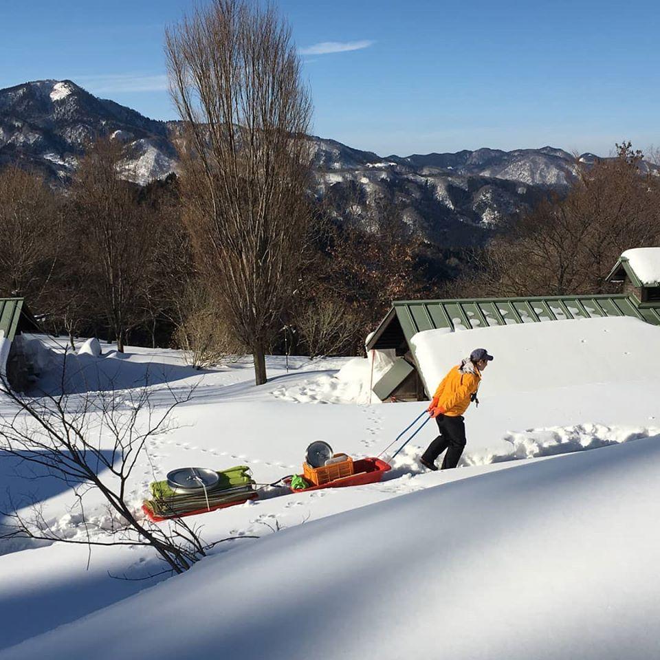 スキー&スノボ 満喫2日間   兵庫(おじろスキー場)
