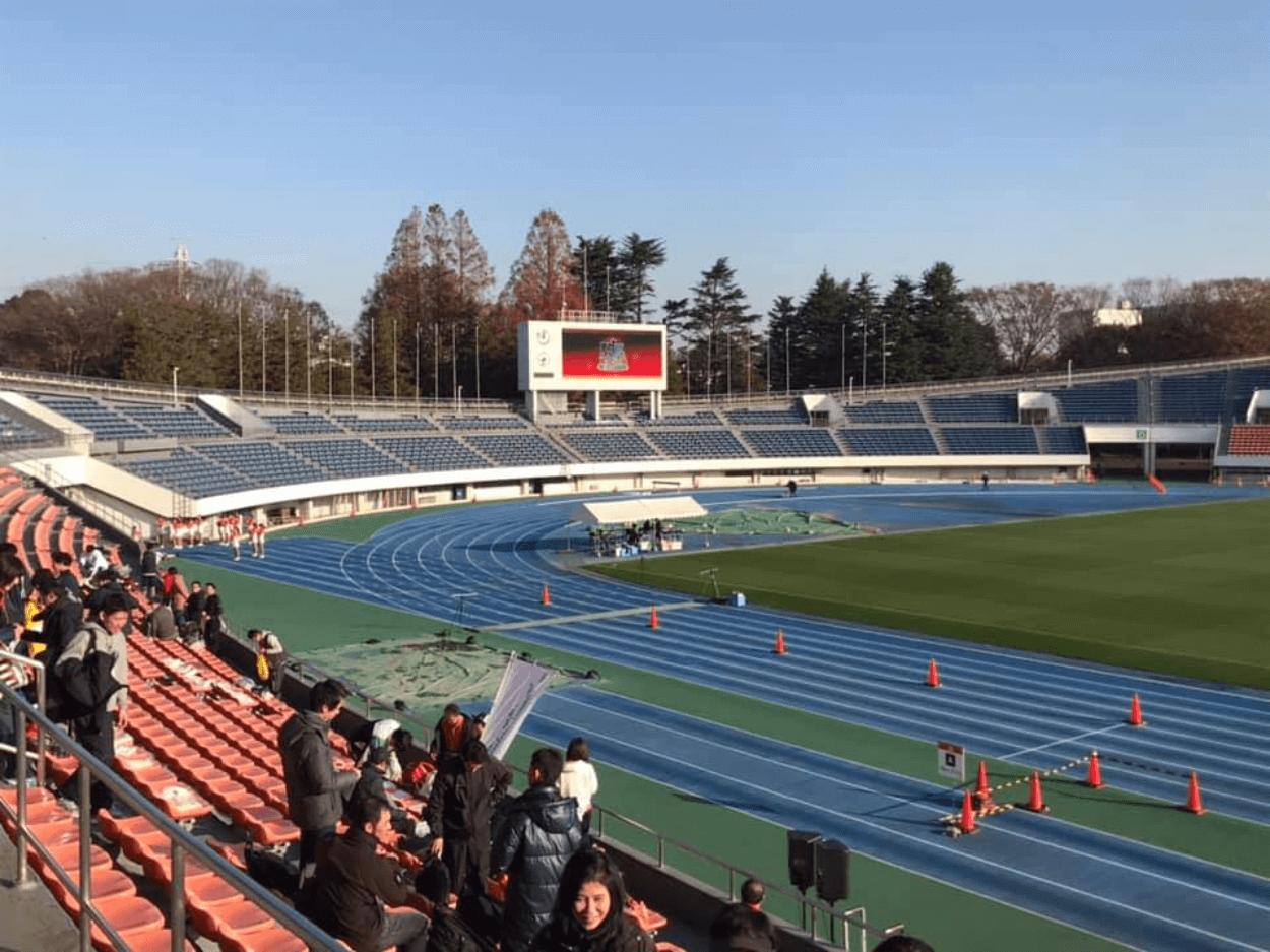 神宮球場リレーマラソン   東京都