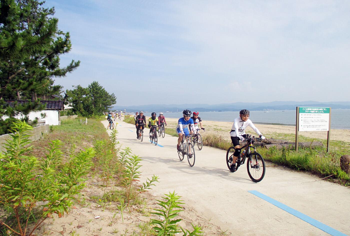 富山湾岸サイクリング   富山(高岡市伏木コミュニティセンター)
