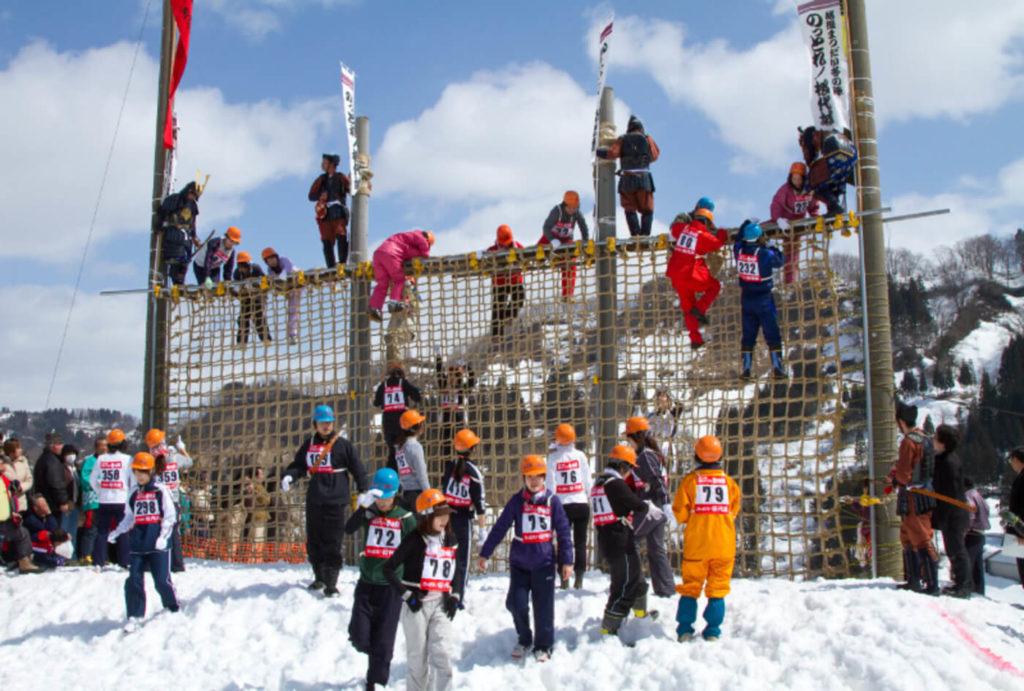 越後まつだい冬の陣「のっとれ!松代城」| 新潟県
