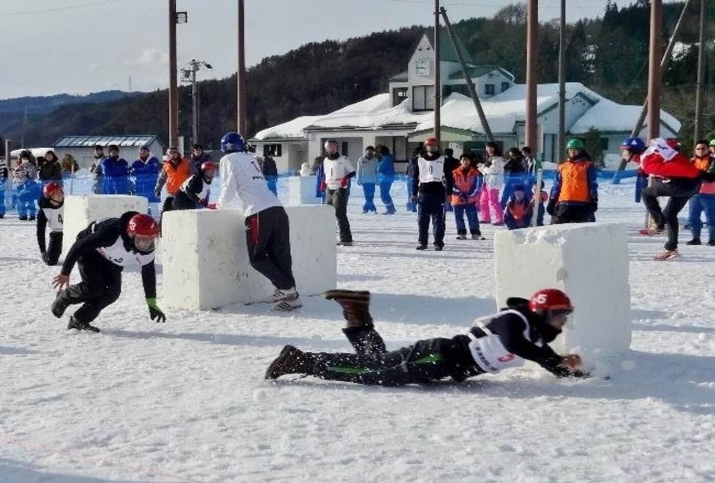 東海雪合戦大会inたかね | 飛騨高山御嶽トレーニングセンター