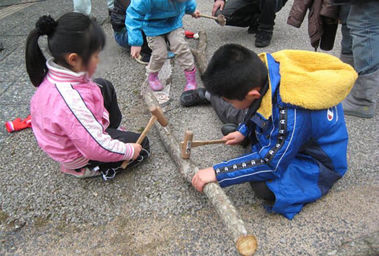 しいたけのほだ木作り教室 | 兵庫県