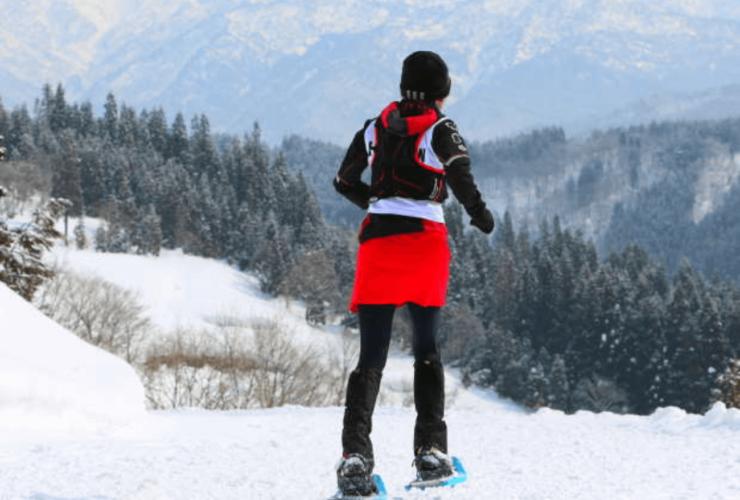 全日本山岳スノ-シュ-イング・レース in 白山 | 石川県