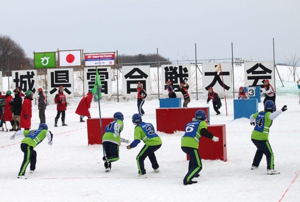 宮城県雪合戦大会 | 加美町小野田西部スポーツ公園