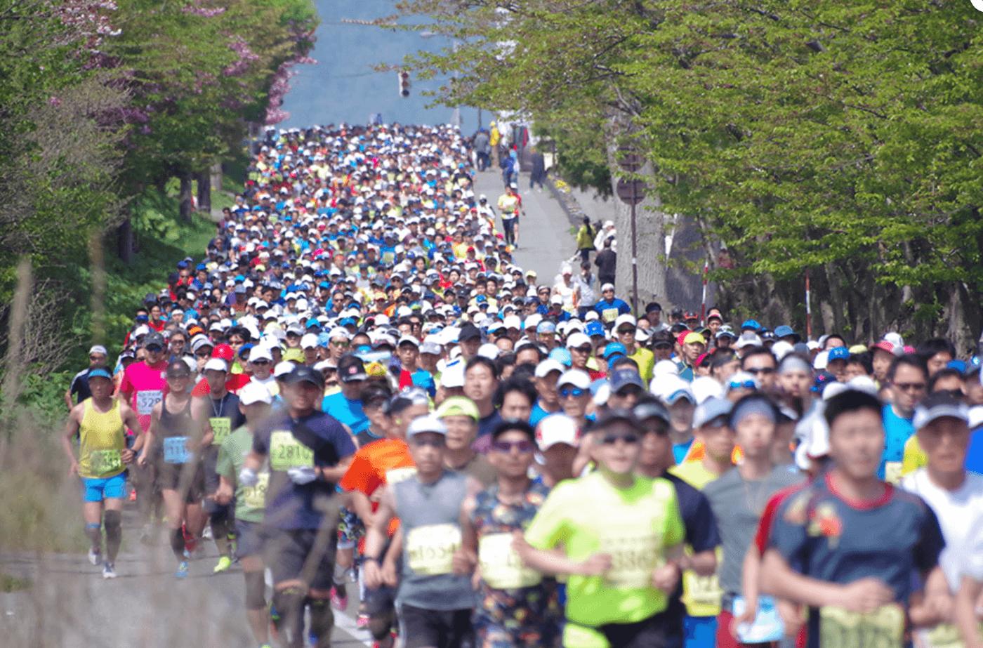 洞爺湖マラソン | 北海道(洞爺湖畔遊歩道広場)