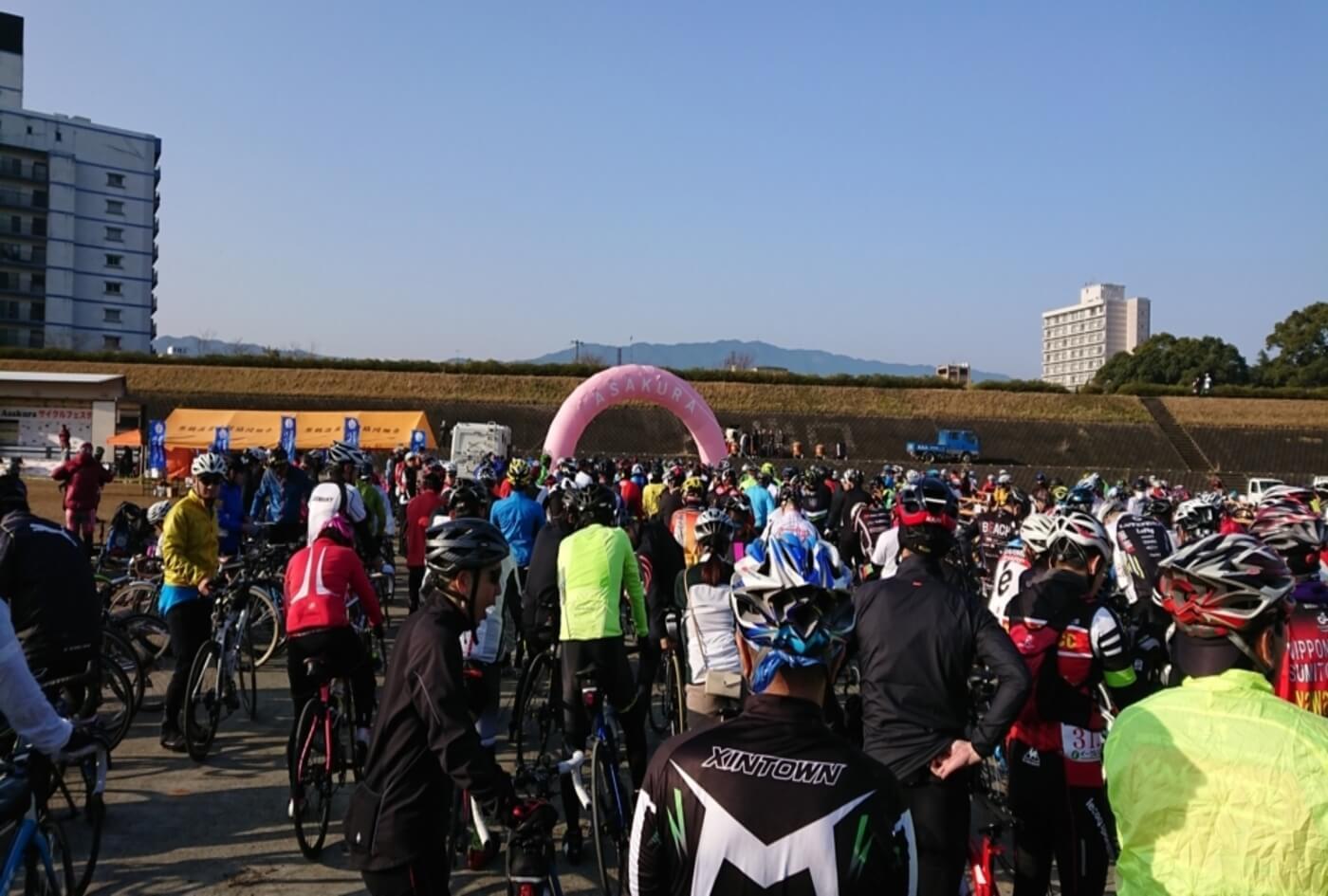 福岡県センチュリーラン大会~復興支援ツール・ド・ASAKURA~   福岡県
