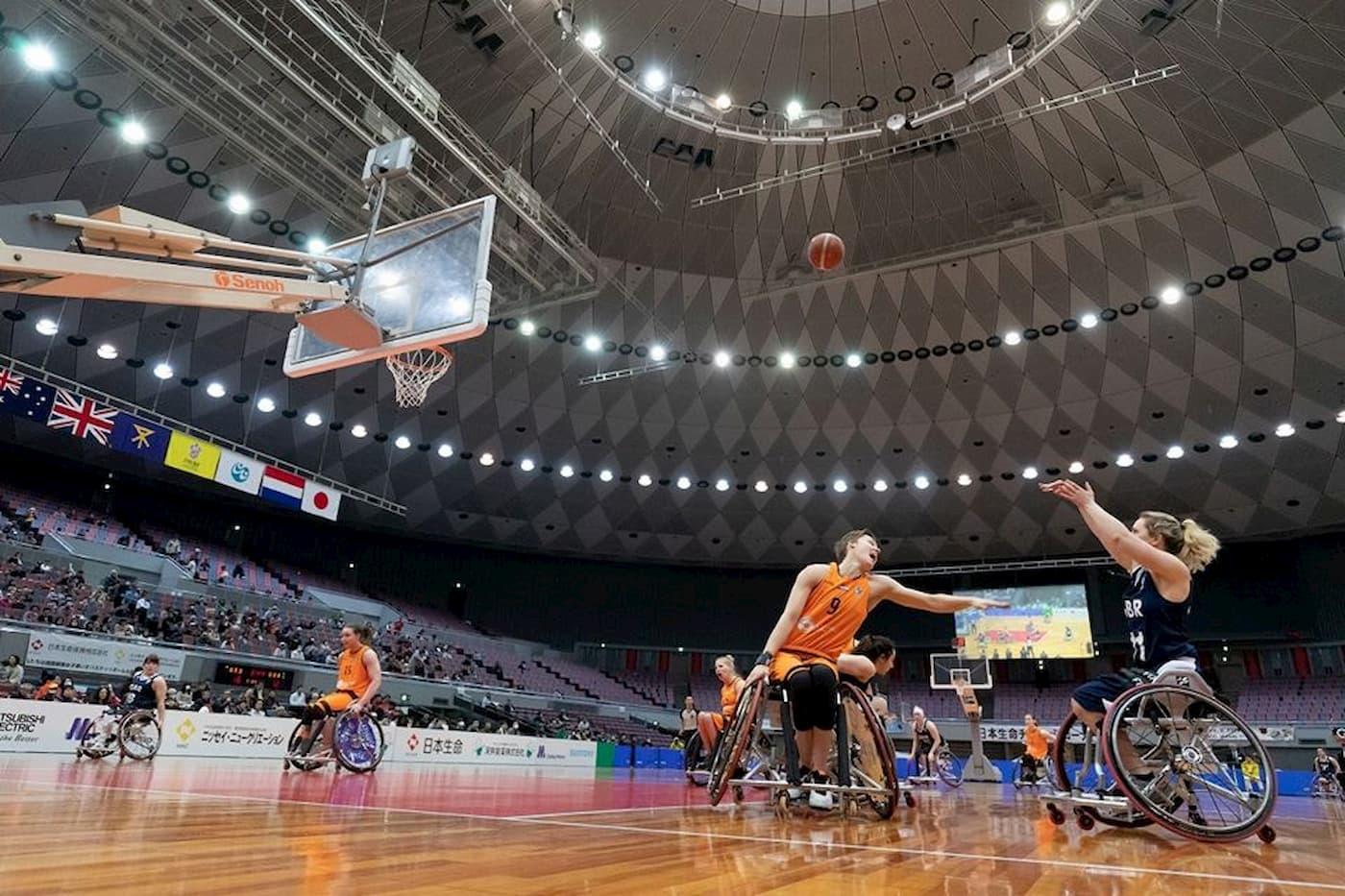 国際親善女子車いすバスケットボール大阪大会 | 大阪(丸善インテックアリーナ大阪)