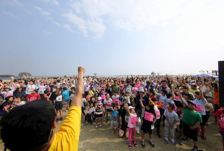 パン食いdeリレーマラソンinラグーナビーチ | 愛知県