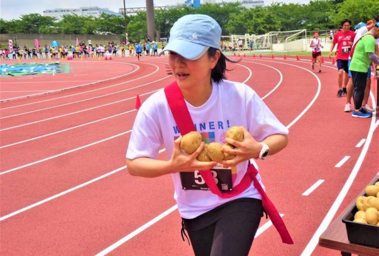 仙台いちごと野菜のリレーマラソン in亘理 | 宮城(鳥の海公園陸上競技場)
