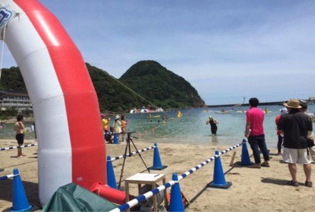 竹野浜オープンウォータースイミング大会   兵庫(竹野浜海水浴場)