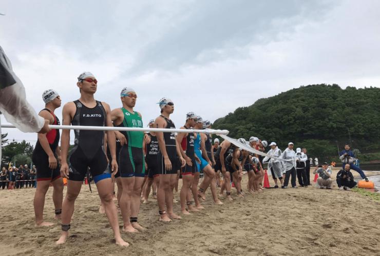 天草宝島国際トライアスロン大会 | 熊本(本渡海水浴場)