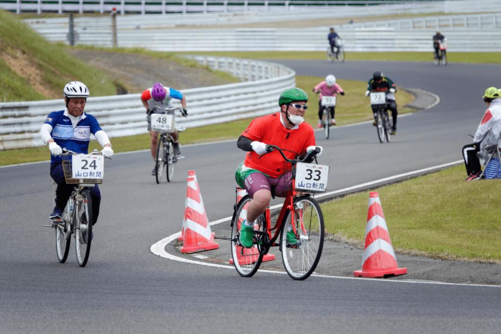 ママチャリグランプリ in MINE | 山口(マツダ美祢自動車試験場)