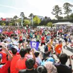 「利家とまつ」金沢城リレーマラソン2020~春の陣~ 石川(金沢城公園内新丸広場)