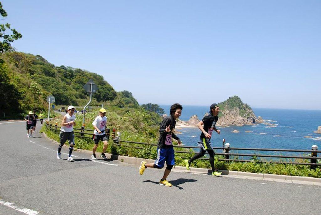 浦富海岸健康マラソン | 鳥取県