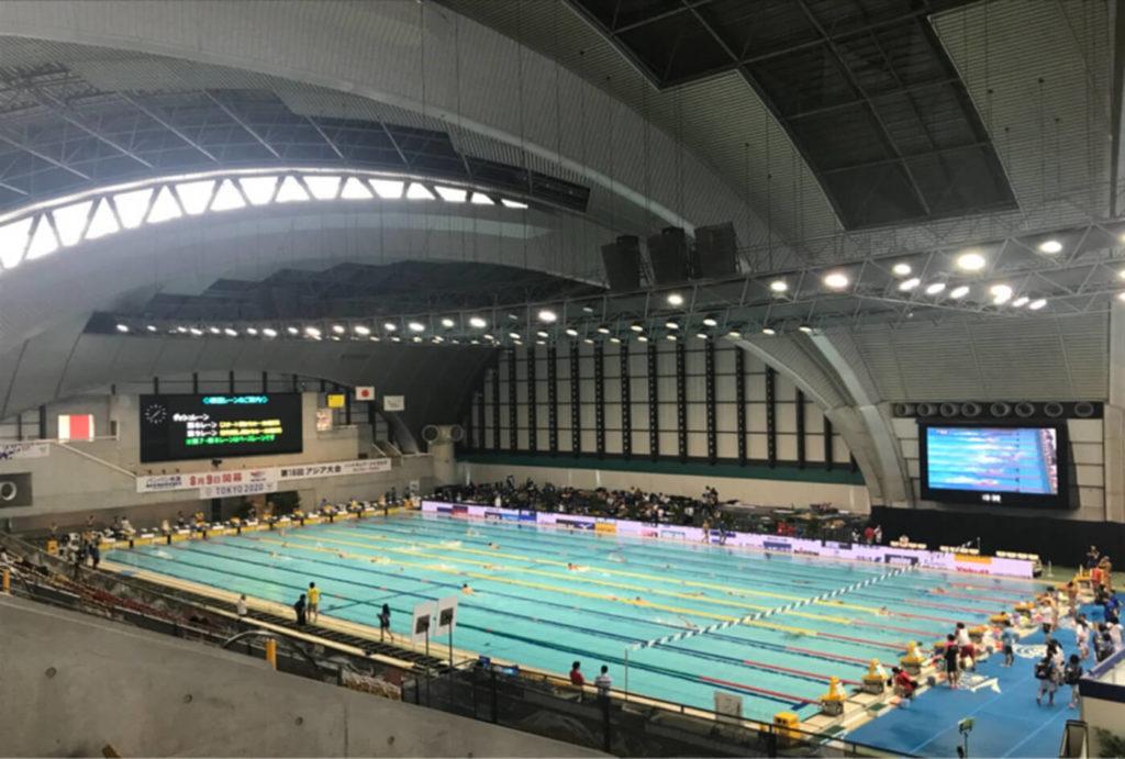 水泳ジャパンオープン2020(50m)| 神奈川(横浜国際プール)