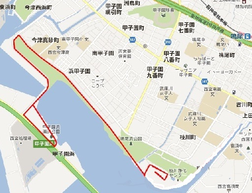 甲子園浜マラソン