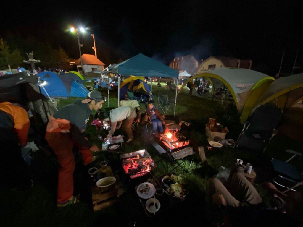 長野県のスキー場で昼はトレイルラン、夜は自然の中で日本初上陸作品を鑑賞/ヨーロピアン・アウトドア・フィルム・ツアー