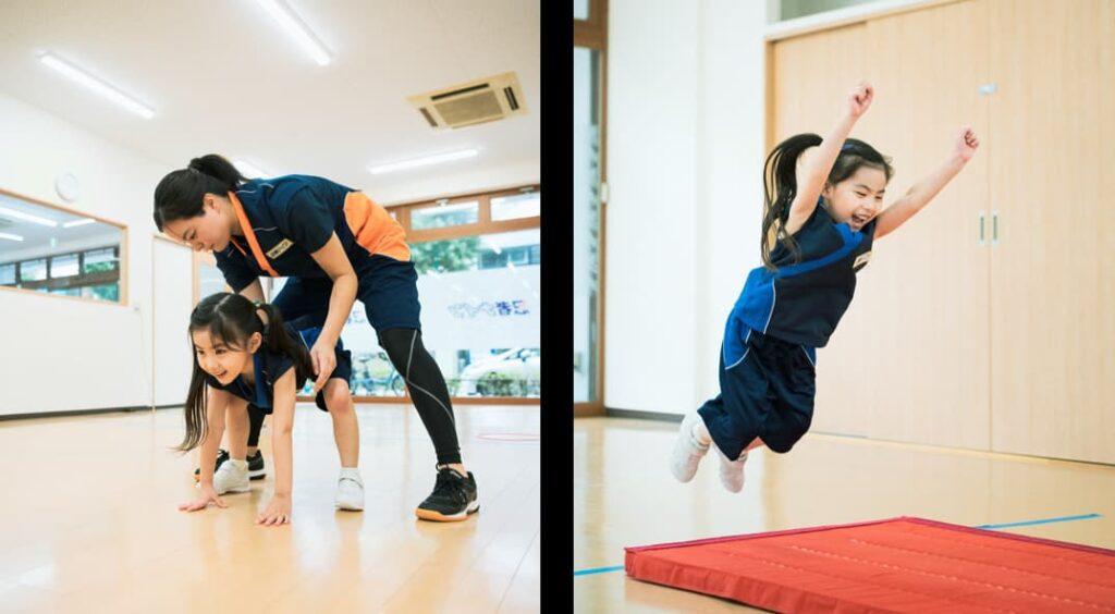スポーツ科学で苦手を克服!種目別の特訓イベント『忍者ナイン マット教室』